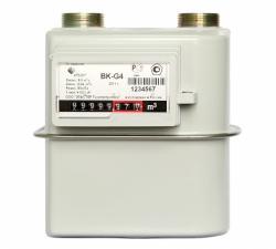 Счетчики газа диафрагменные BK-G1,6, BK-G2,5, BK-G4