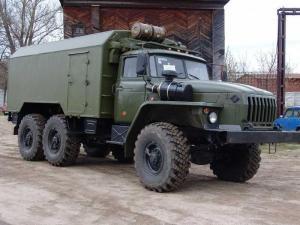 Передвижная станция автолаборатория на шасси Урал 43206