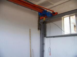 Кран балка опорная г/п 2 тонны, ш/п 16,5 метров