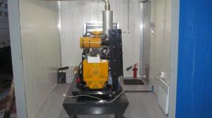Дизельный генератор UND 35 в контейнере