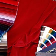 Ткань бархат:портьерная и мебельная ткань. Италия.