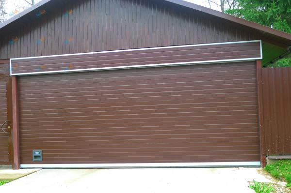 ворота для гаража из канады