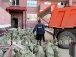 Сбор и вывоз строительного мусора на утилизацию