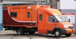 ГАЗ-33106 с двухрядной 7-местной кабиной и фургоном-автомастерской