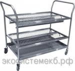 Тележка для сушки тарелок ТСТ-100-4