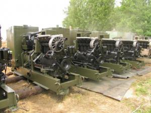 Дизельный генератор электростанция IFA 4 VD 12,5