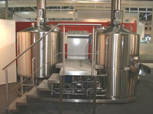 Пивоварня (мини пивзавод) 10 гектолитров, из Германии GHB 10