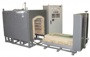 Печь камерная высокотемпературная с выдвижным подом ПКВП-0,4