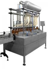 Автомат розлива пива и кваса в ПЭТ тару до 1200б/час АРЛ8-8И