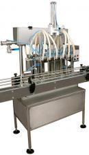 Автомат розлива масла и химии в ПЭТ тару АРЛ8-П