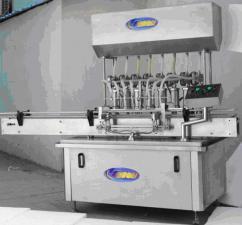 Линия поршневого розлива молочных продуктов 1000-1200 бутылок в час по ПЭТ таре 1000мл YXT-YGA-6