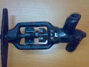 Вентиль дроссельный 1031-20-19 (Ду 20) под приварку к установкам ППУА 1600/100, ППУ 1600/100, АДПМ-12/150, запчасти