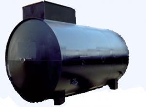 Резервуары горизонтальные стальные двустенные РГСД от 15м3 до 100м3