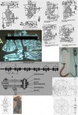 троллеи, ролики, стрелки, ЗИП конвейера ГК-1, путь - полоса 12х65мм или труба.