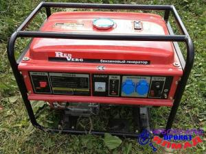 Аренда Генератор бензиновый RD6500B RedVerg. Чебоксары