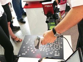 Лазерный маркер переносной с ручных узлом для маркировки
