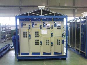 Комплектная трансформаторная подстанция КТПГ проходного типа до 1250кВА