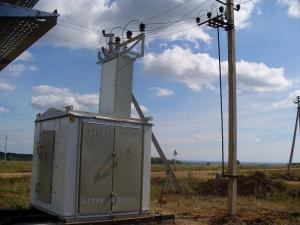 Комплектная трансформаторная подстанция КТП наружней установки до 1000кВА