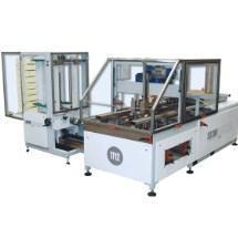 Автоматическая машина модели TF12 Evolution для формирования и склейки гофрированных картонных треев с верхними клапанами