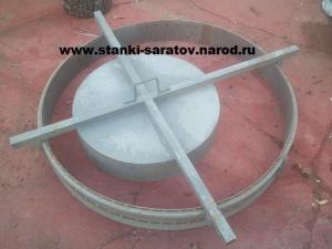 Форма для производства плит перекрытия и плит днища колодца ПН-1.0