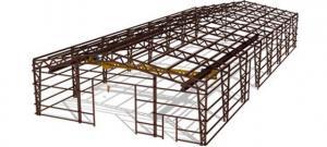 Металлоконструкции каркаса быстровозводимого здания