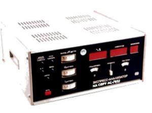 Экспресс-анализатор на углерод АН-7529 (без устройства сжигания УС 7077)