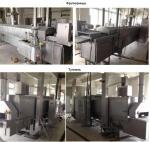 Оборудование для котлет, полуфабрикатов (мясо, птица, рыба, овощи, сыр) Koppens: фритюрница BR 3000/400, туннель HLT 8.000/600
