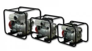 Мотопомпы Koshin KTH - 100 X для сильнозагрязненной воды с илом и камнями.