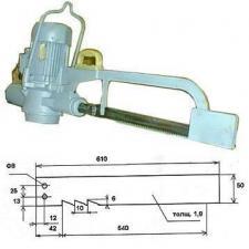 Электропила для распиловки туш Р3-ФРП-2