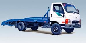 Автоэвакуатор Hyundai HD78 с выдвижными аппарелями
