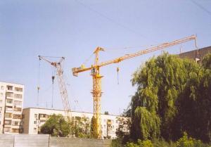 Китайский башенный кран T5513-6 tn