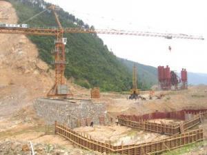 Башенный кран QTZ-80 8 тонн, аналог Potain (Потайн)