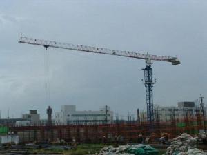 Безоголовочный башенный кран китайский Top Sky TT6020-10, 10тн