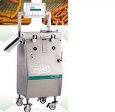 Машина для разделения сосисочных гирлянд. Делитель (резчик) сосисок (сарделек). Делитель сосисок. Резчик сосисок Vemag TM-203