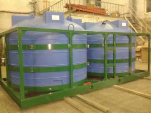 """Емкости усиленные, универсальные для плотных жидкостей """"Кассета 4500Х2 S2"""" (до 1,4 Г/КГ3)"""