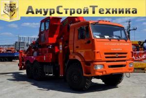 Автовышка Hansin HS 4570 на шасси КамАЗ-43118 (6 х 6)