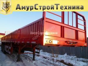 Полуприцеп бортовой Tongyada CTY-9407 (пневмоподвеска)
