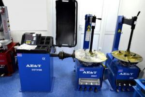 DST448В Балансировочный стенд для грузовых автомобилей, 380В, AE&T