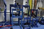 Пресс гидравлический 20 тонн, напольный, AE&T