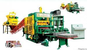 Китайский мини кирпичный завод QTY6-20