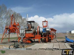 Асфальтный завод мобильный QLB15