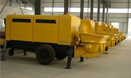 Бетононасос дизельный HBT S40 13-75.8R