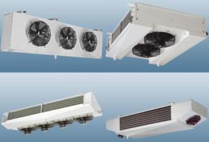 Воздухоохладитель испаритель радиатор холодильный камеры склада