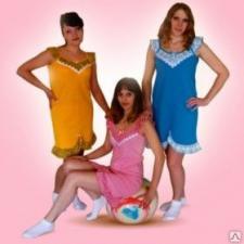 """Сорочка женская ночная """"Ромашка"""" модель 2-01"""