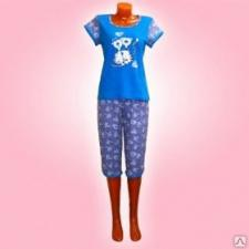 """Пижама женская """"Нежность"""" модель 1-10"""