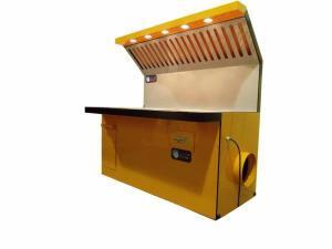 Столы сварщика СС ССВ СН ССН с вентиляцией вытяжкой освещением