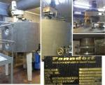 Pоnndorf реактор, емкость 900л. с паровой рубашкой и мешалкой