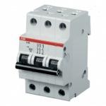 автоматический выключатель ABB 3 пол. 125А (4 места)