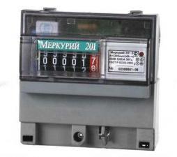 Счётчик электрической энергии Меркурий 201.5