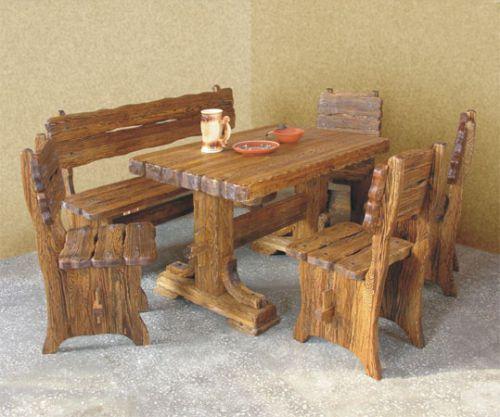 Лендинг мебель из массива